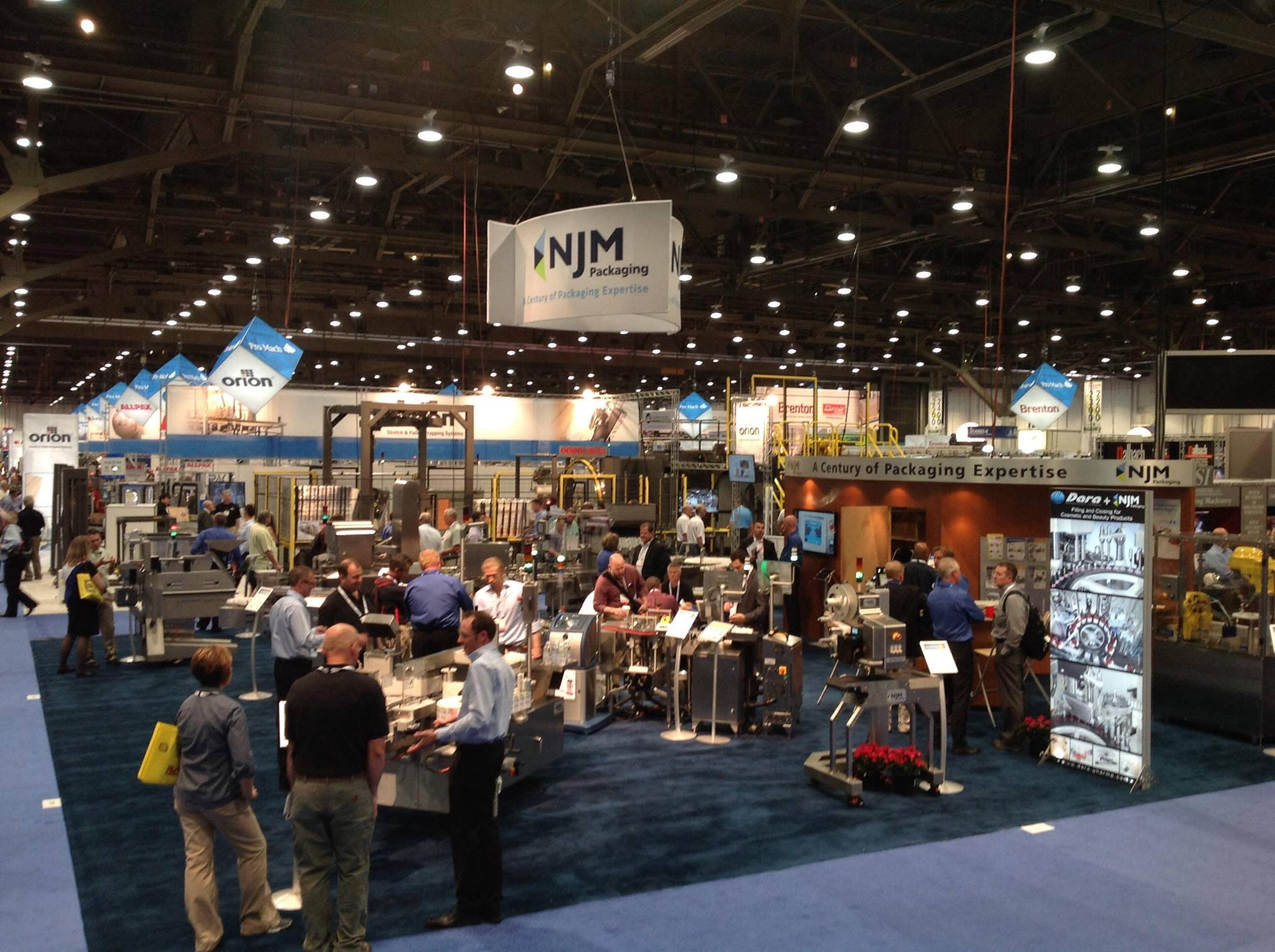 NJM Packaging at Pack Expo 2013